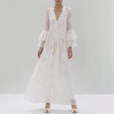onvacation, long skirt, Lace, Dress