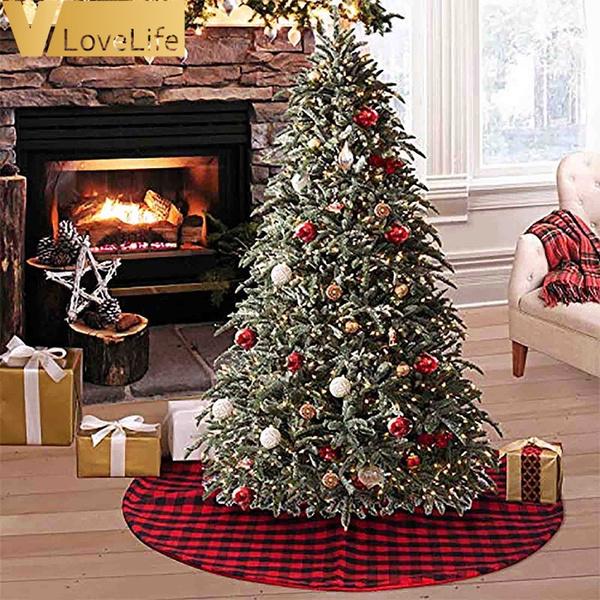 Xmas Snowflake Blue Tree Skirt Plush Decorations Skirt Mat for Indoor Outdoor Xmas Holiday Decor T-REASURE 36Inch Christmas Tree Skirt Velvet Christmas Tree Skirt