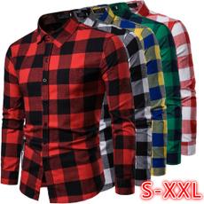 plaid shirt, shirtsformenlongsleeve, plaid, Shirt