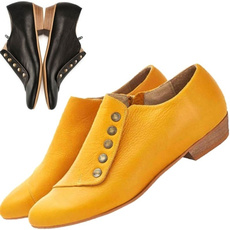 casual shoes, Fashion, leather, Single shoes