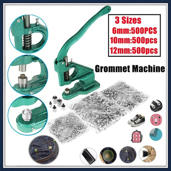 Machine, eyeletsettingmachine, tüllemaschine, eyelethandpresstool