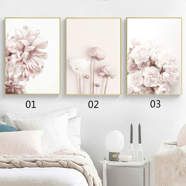 pink, art, Flowers, unframed