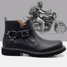 motorcycleaccessorie, non-slip, Outdoor, Leather Boots