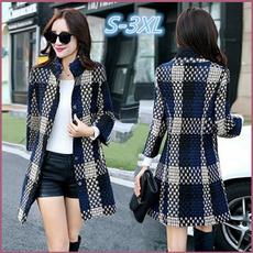 woolen, woolen coat, Plus Size, Winter