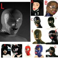 openeyemask, latex, Head, Cosplay