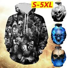 Plus Size, pullover hoodie, Long Sleeve, Halloween Costume