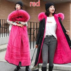 women winter clothes, hooded, fur, Winter