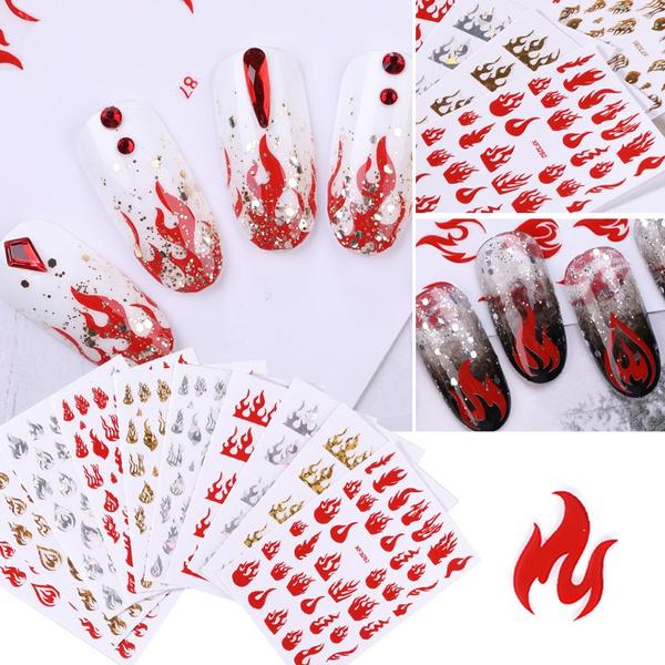 nail decoration, water, nail stickers, Fashion