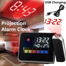 projectionalarmclock, rotatable, led, projector