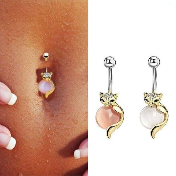 cute, navel rings, piercingjewelry, bodyjewellery