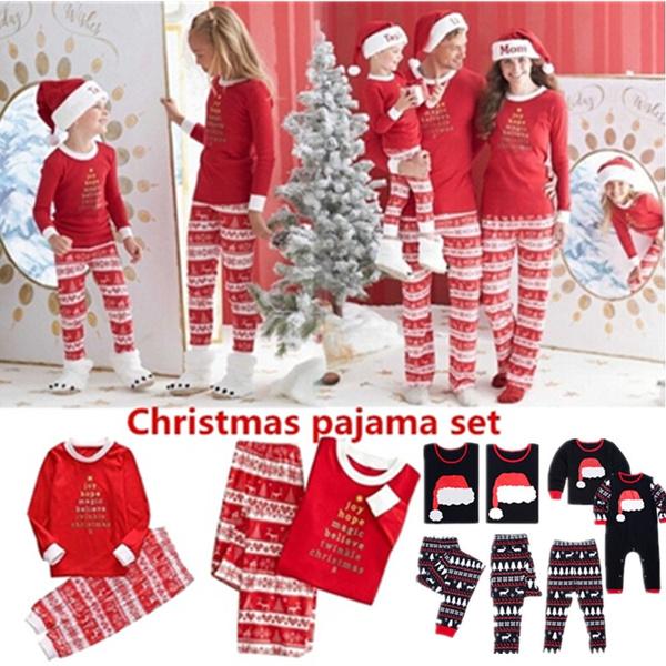 pajamaset, christmaspajama, Christmas, Family
