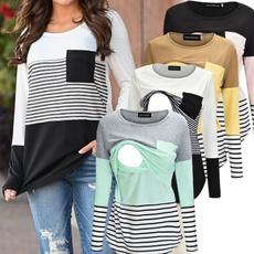 Fashion, topsforpregnantwomen, Shirt, Sleeve