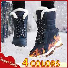 winterbootsforwomen, furboot, Flats shoes, Winter