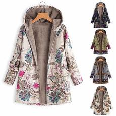 Vintage, hooded, leaf, Sleeve