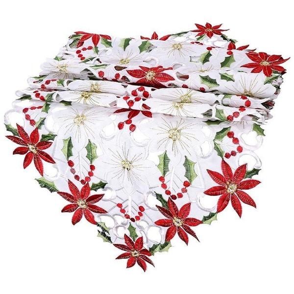 tableflag, christmasflowertableflag, hollowtableflag, householditem
