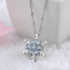 Blues, Flowers, Jewelry, Chain