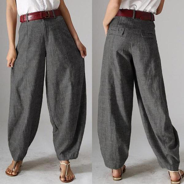 Women Pants, Plus Size, pantsforwomen, Casual pants