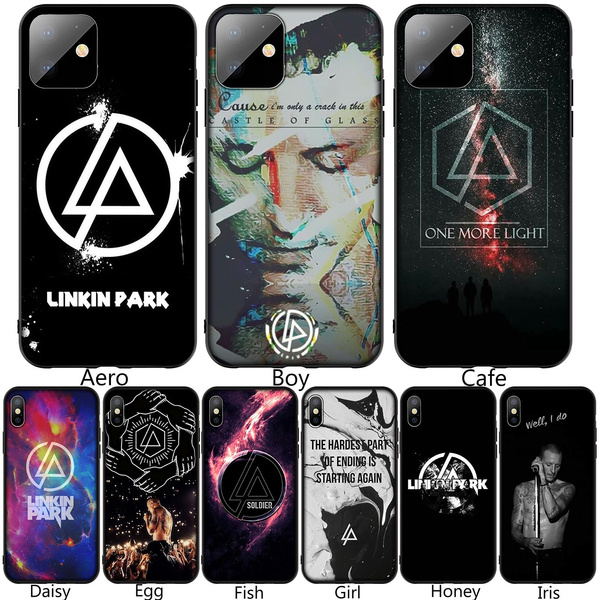 Linkin Park Soft Silicone Black TPU Cover Case for iPhone XR X XS 11 Pro Max 10 6 6S 7 8 Plus 5 5S SE Phone Case for Samsung Galaxy A10 A20 A30 A40 ...