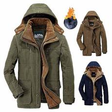 Flanela, Overcoat, Invierno, Hombre