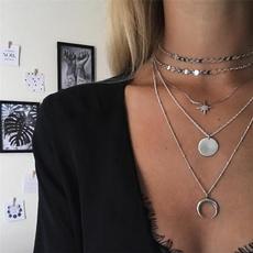 crescentmoon, Chain, Ornament, combination