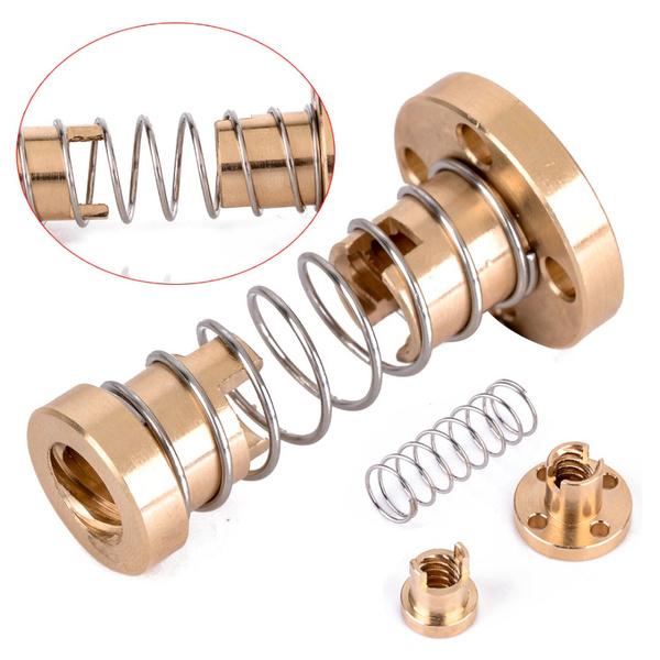 3dprinterpartsaccessory, Brass, 3dprinterrod, screwdriverextensionsrod