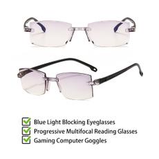 computergoggle, formenwomen, Fashion, rimlessreadingglasse