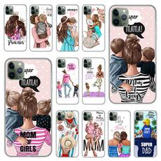 Samsung phone case, brown, Phone, hair