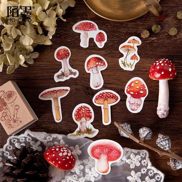 School, Mushroom, scrapbookingamppapercraft, Stickers