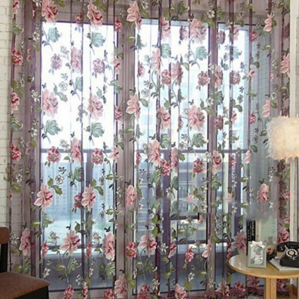 decoration, Floral, windowscurtain, roomcurtain