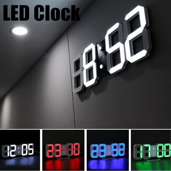 led, Office, Led Clock, Home & Living