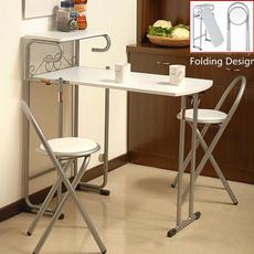 Kitchen & Dining, folding, Metal, bartableset