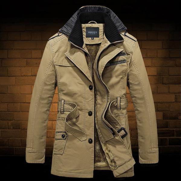 Thicken, men coat, Fashion, Jacket