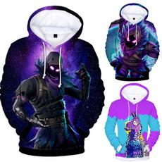 3D hoodies, Casual Hoodie, kidshoodedcoat, fortnitehoodie