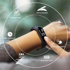 LED Watch, Touch Screen, lights, led