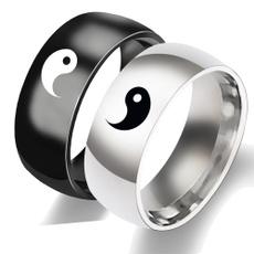 Steel, wedding ring, Jewelry, titanium