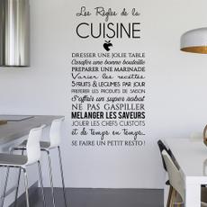 cuisine, Decor, muraldecal, Home Decor