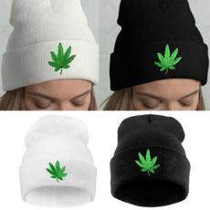Warm Hat, Beanie, casualhat, leaf