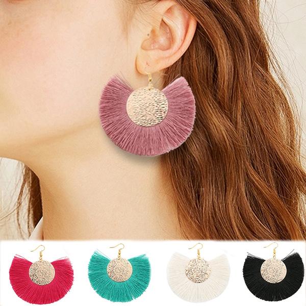 Tassels, Dangle Earring, Jewelry, bohoearring