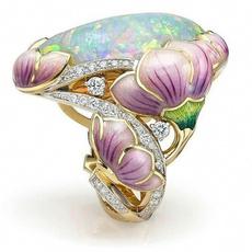 DIAMOND, gold, Engagement Ring, Wedding