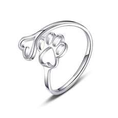 Heart, Love, Jewelry, Silver Ring