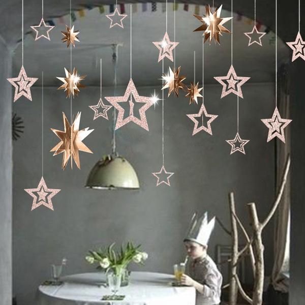 hangingdecor, Star, Jewelry, Garland