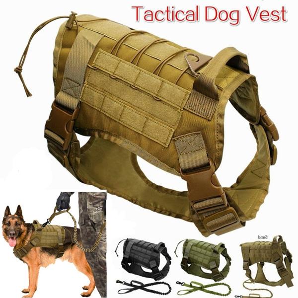 tacticaldogvest, Medium, servicedogvest, Army