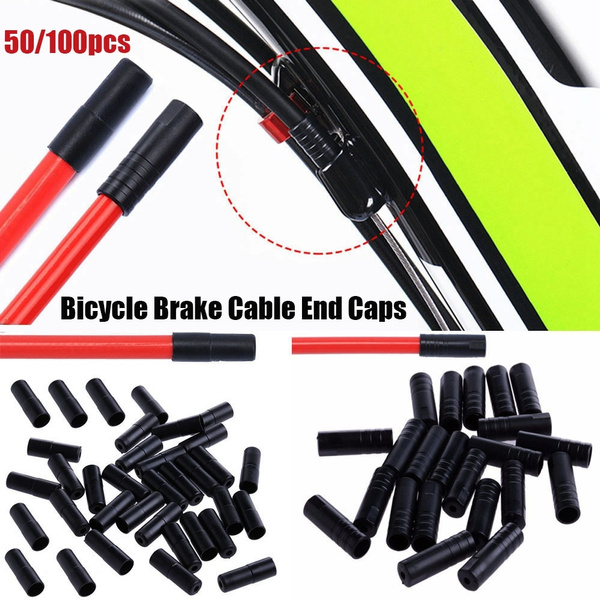 Pipe Tool Outer Cable Cover Caps Tips Crimps Shift//Brake Cap Bicycle Brake Gear