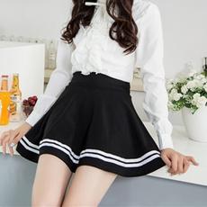 summer skirt, high waist, schoolskirt, Skirts
