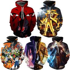 3D hoodies, 3dprintsweatshirt, sasuke, narutosweatshirt