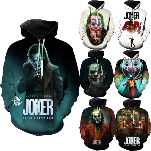 Fashion, Winter, Halloween Costume, jokerhoodie