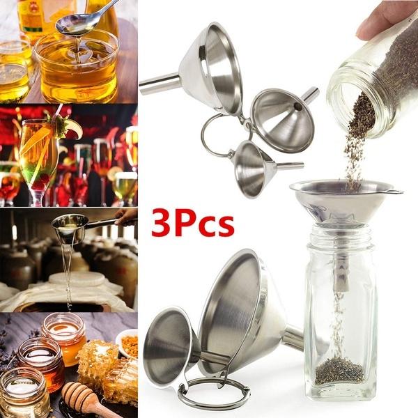 Steel, Mini, funnel, kitchenfilter