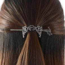 celtichairpin, norsevikingjewelry, dragonhairpin, Jewelry