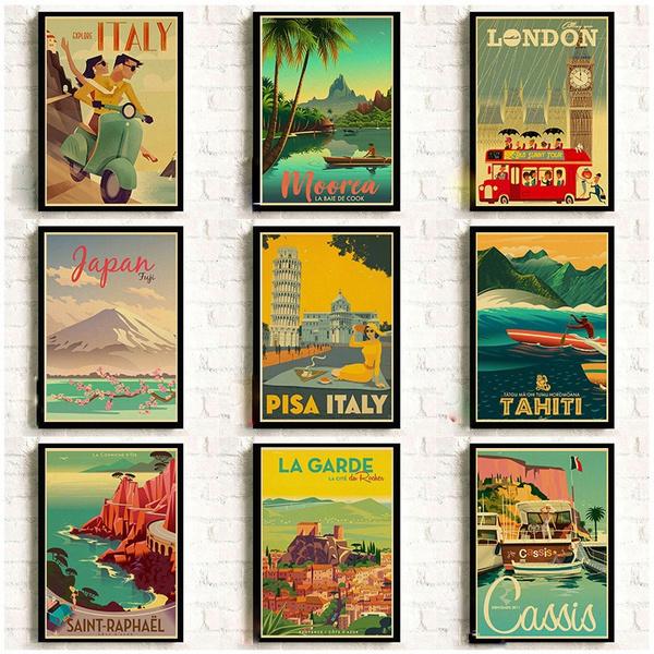 Italy, New York, Vintage, Travel