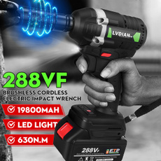 electricimpactwrench, cordlesswrench, led, Electric